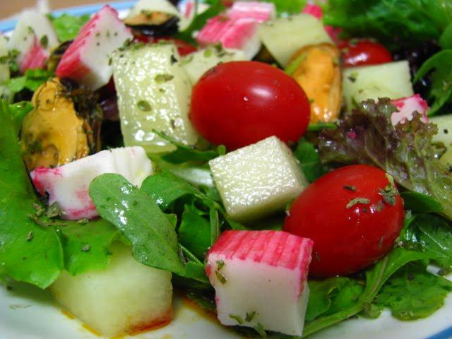 Salada Frutos do Mar