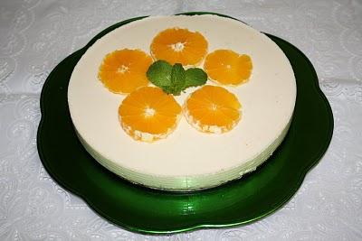 Cheesecake de Laranja e Limão