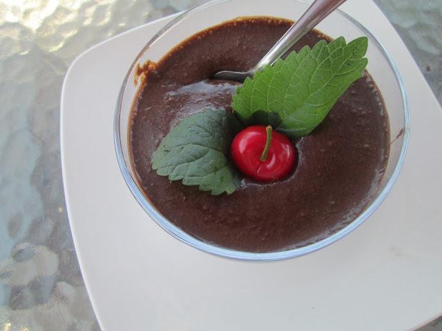 Mousse de Chocolate Diferente