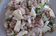 Salada de Atum com Maionese Caseira