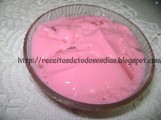 Gelatina com Iogurte Light
