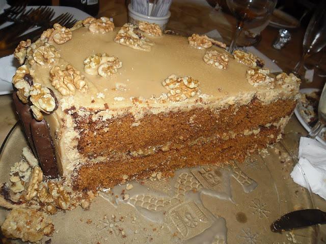 Torta com Recheio de Caramelo