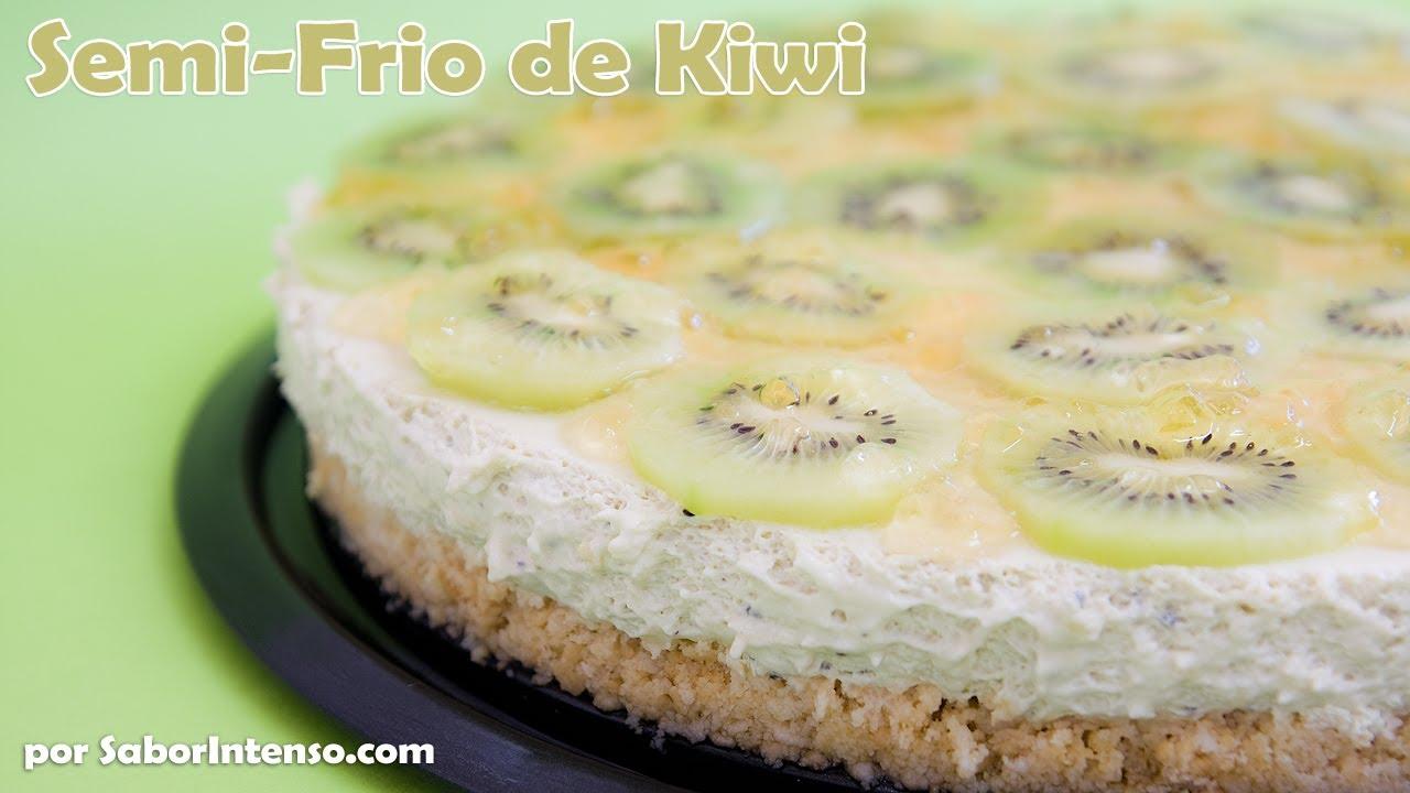 Semi-Frio de Kiwi