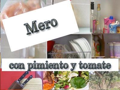 Mero a La Vinagreta de Tomate y Pimiento