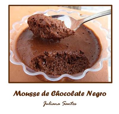 Mousse de Chocolate (Receita Original)
