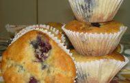 Muffins de Chocolate e Amoras