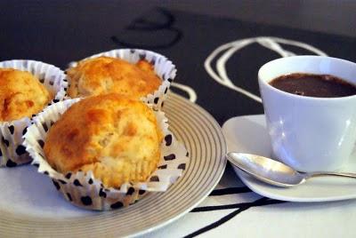 Muffins de Maçã e Chocolate