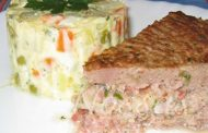 Bolo de Carne com cream cheese (microondas)
