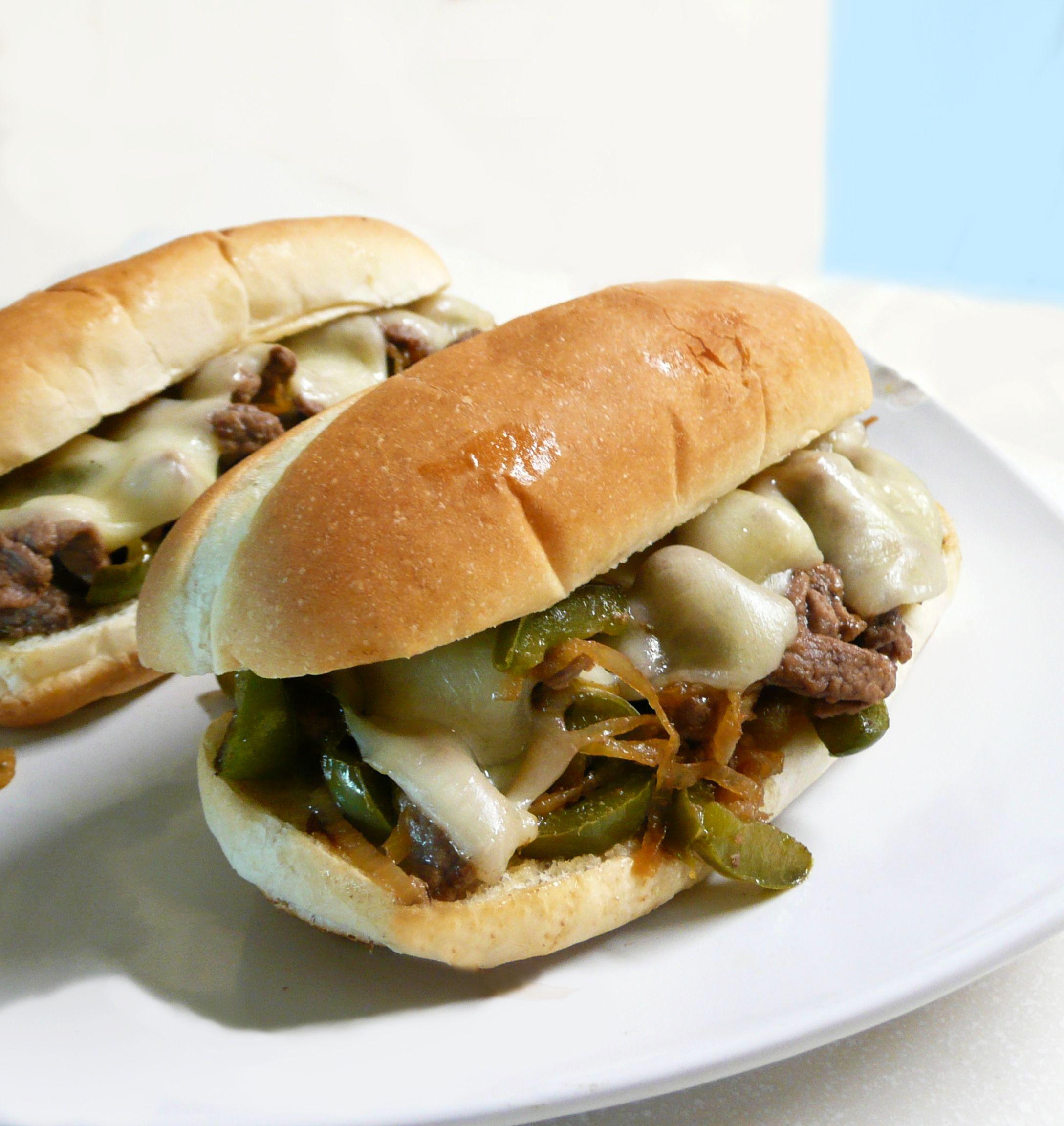 Sanduíche Philly Cheese Steak
