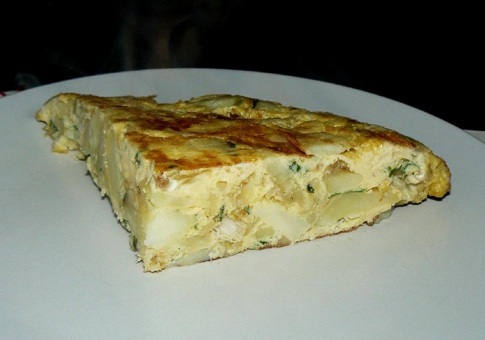 Tortilha de Bacalhau