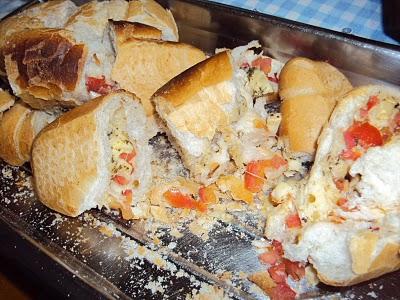 Pão de Alho no Churrasco