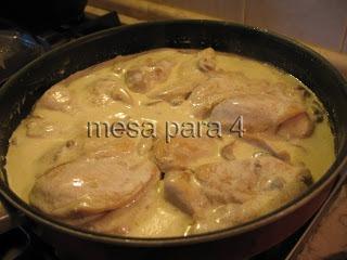 Peitinhos de frango com Natas