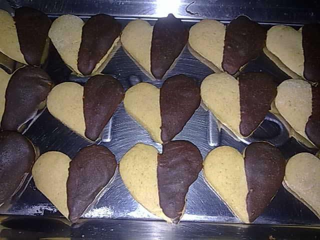 Biscoitos de Laranja com Chocolate