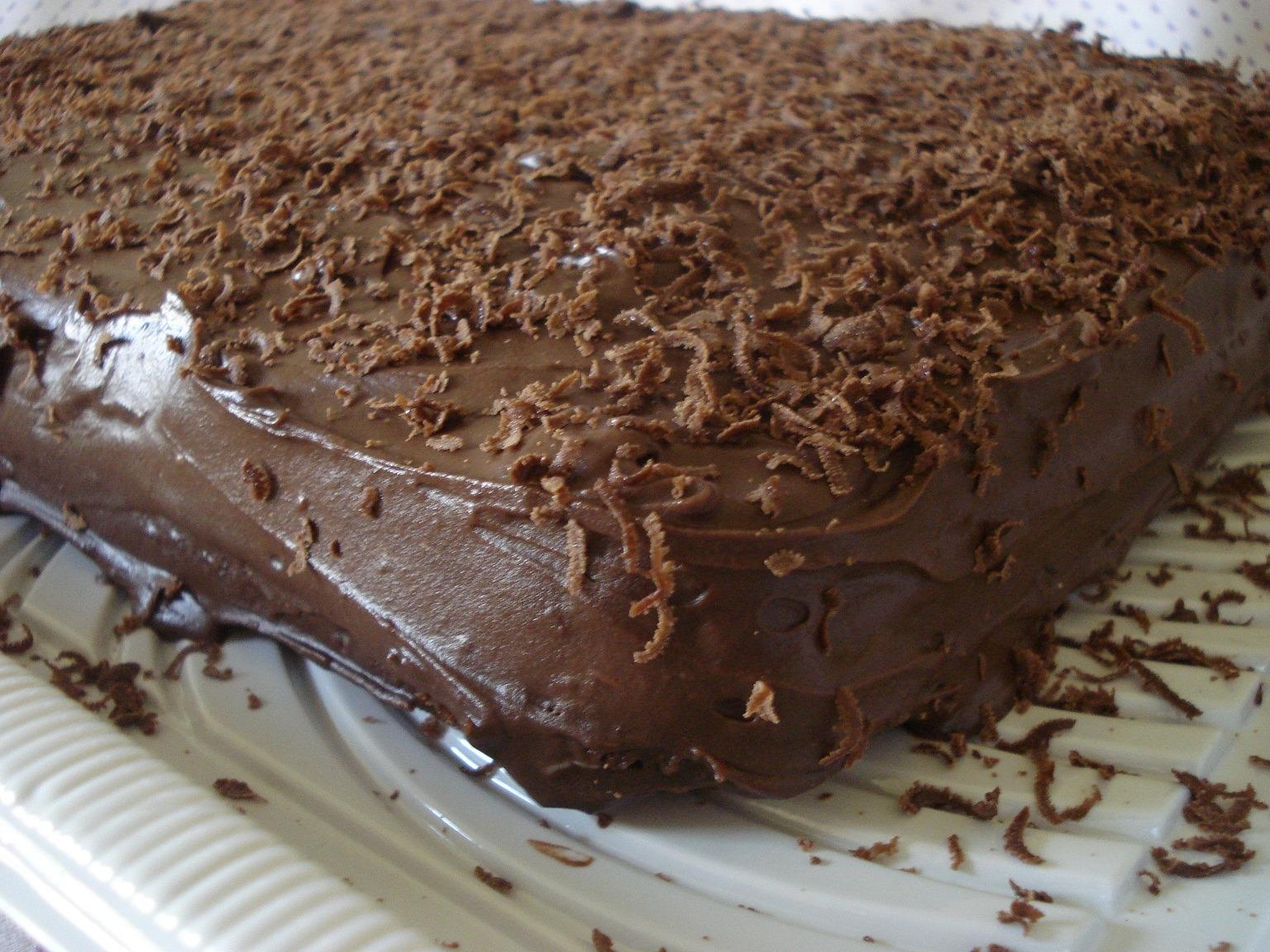 Bolo Rápido de Chocolate