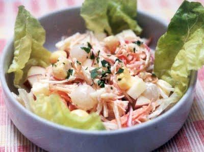 Salada Cremosa de Couve-Flor