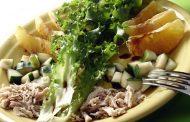 Salada de Frango e Pepino