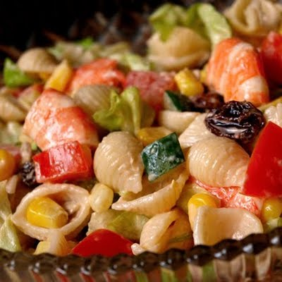 Salada de Conchinhas com Morangos
