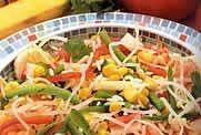 Salada Mista com Molho Búlgaro