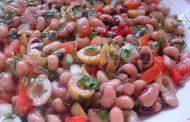 Salada com 3 Cores de Feijão