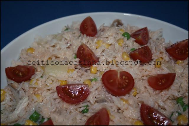 Salada de Arroz Fria