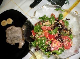 Salada loucuras de queijo