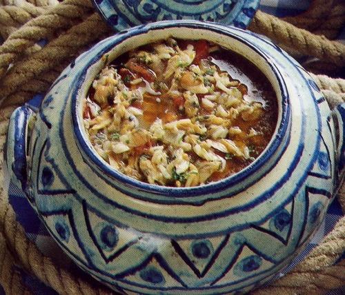 Canja ou Sopa de Conquilhas