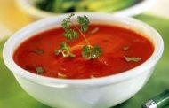 Sopa de tomate cremosa (microondas)