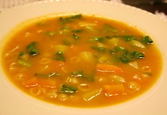 Sopa caseira