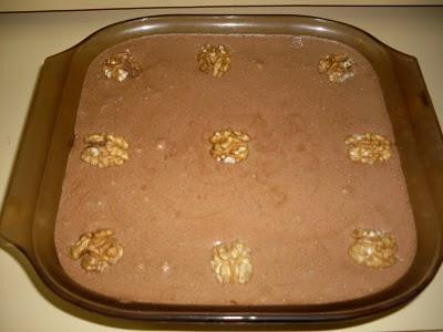 Mousse de Chocolate Branco com Noz