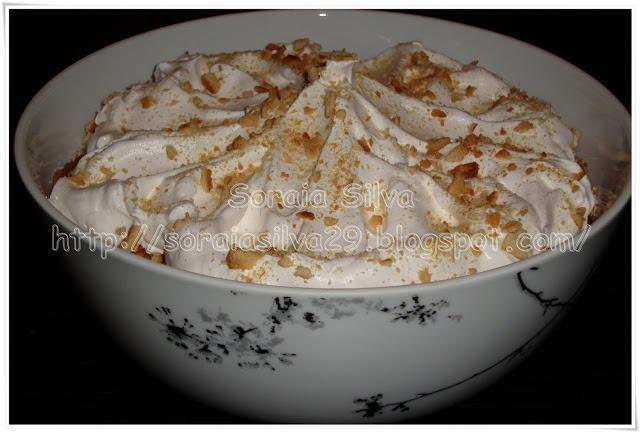 Mousse de Chocolate com Natas