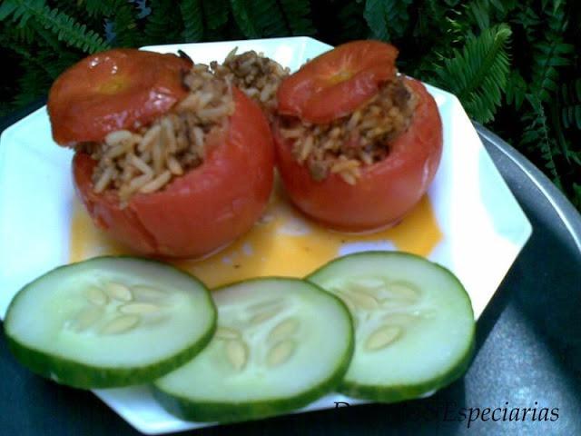 Tomates Recheados com Carne Picada no Forno