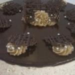 Mousse Enformada de Castanhas, Chocolate e Chantilly