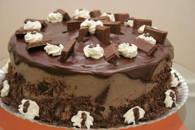 Torta Gelada de Diamante Negro