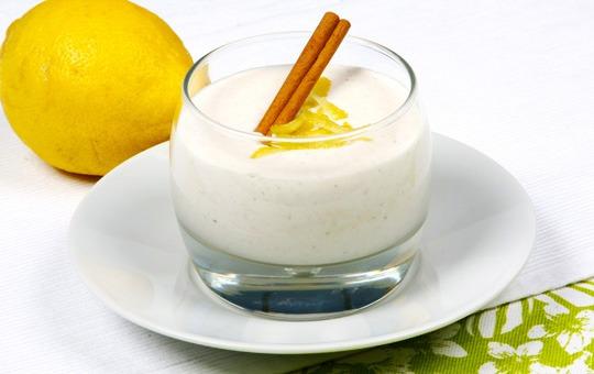 Creme de Iogurte e Limão