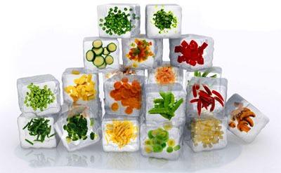 Alimentos que não se deve Congelar