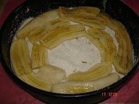 Torta de bananas com leite condensado