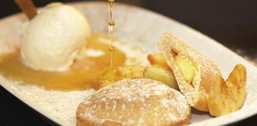 Almofadas de maçã reineta