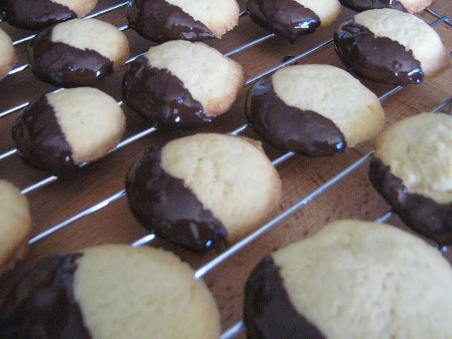 Bolachinhas de Laranja com Chocolate