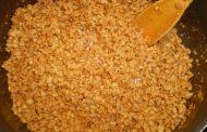 Farofa especial de soja