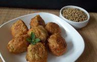 Assado de lentilha e arroz