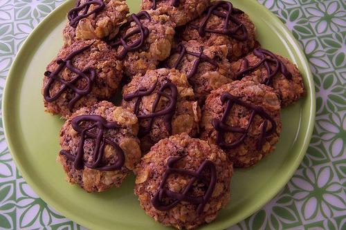 Bolachas Crocantes de Chocolate
