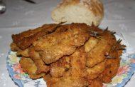 Sardinhas em filetes panados
