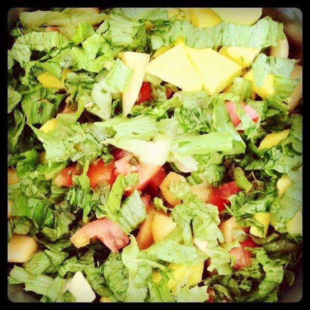 Salada de Abacate com Cogumelo