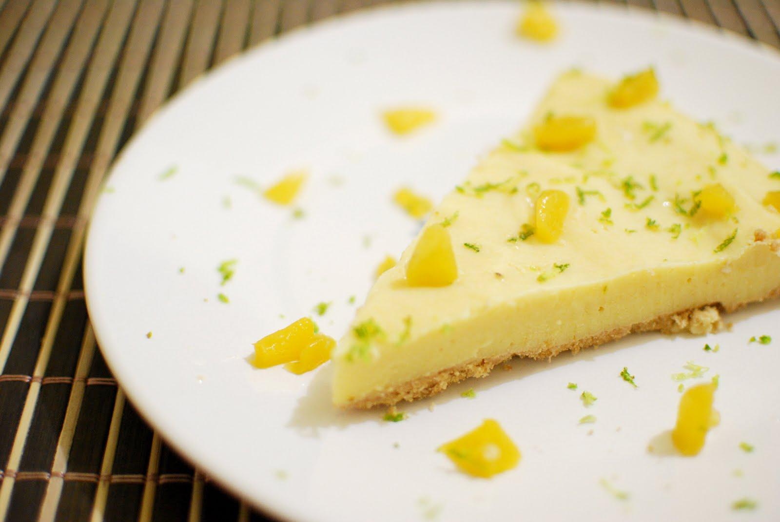 Torta com Pêssegos