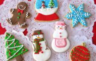 Árvore de Natal de biscoito