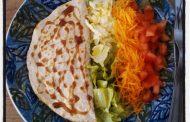 Crepes de Queijo c/ Salada