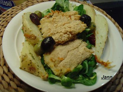 Bacalhau Panado e Frito