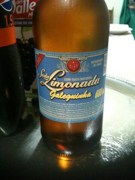 Cerveja com Soda Limonada