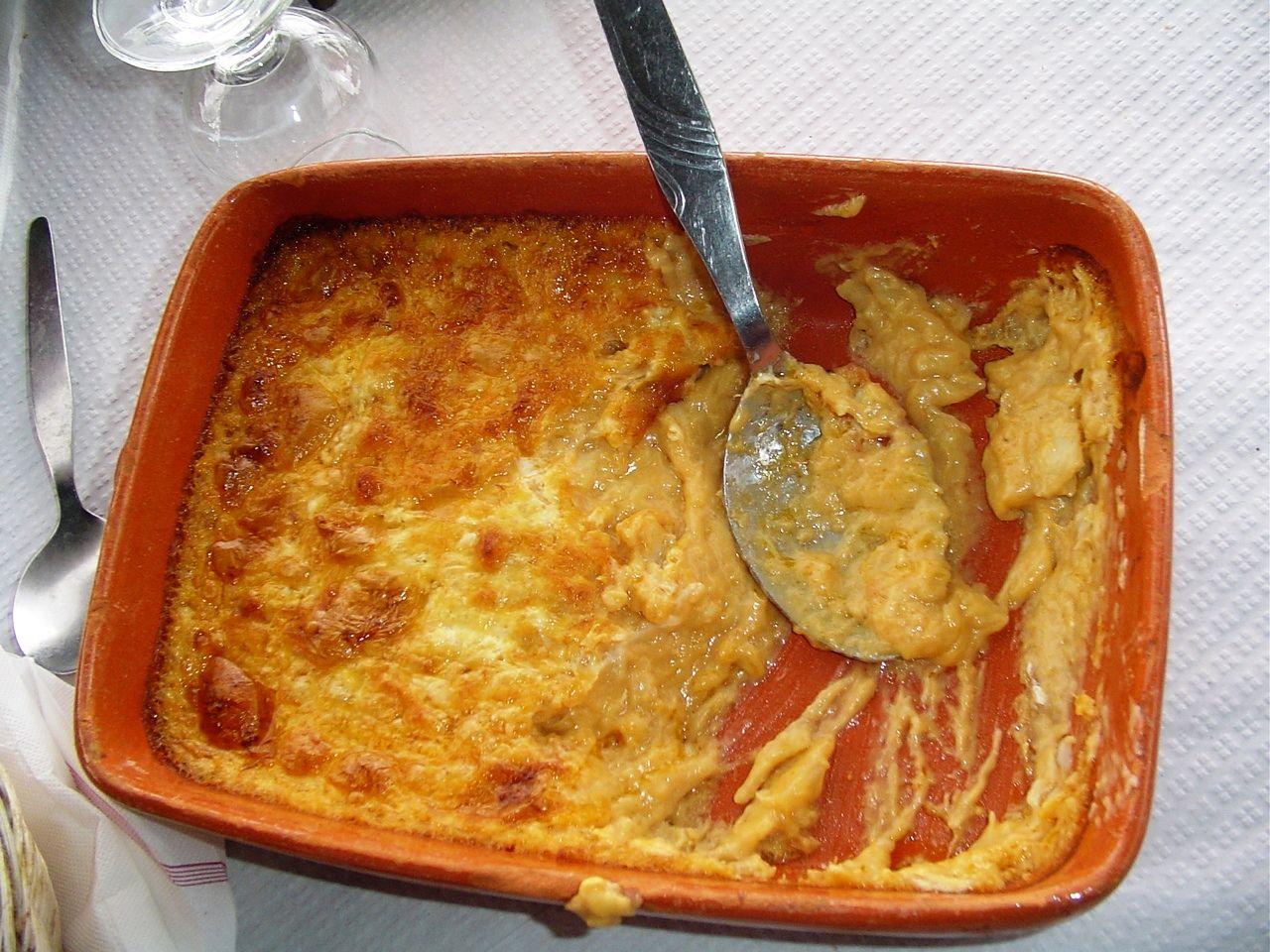 Açorda de Bacalhau com Tomate
