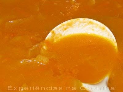 Sopa Juliana ou sopa de legumes